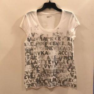 Calvin Klein Graphic T Shirt, L